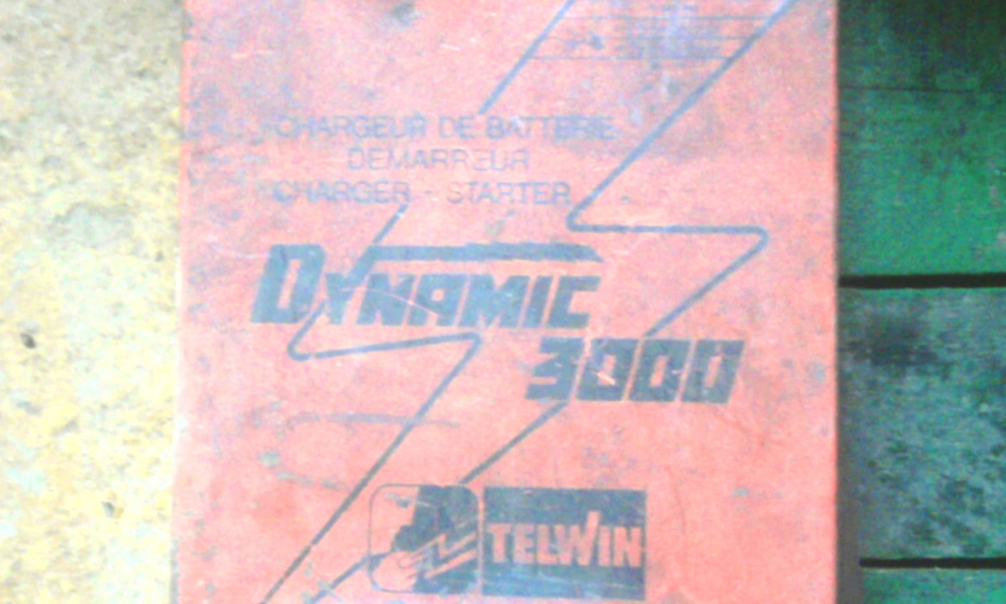 Schemat prostownika z rozruchem TELWIN DYNAMIC 3000