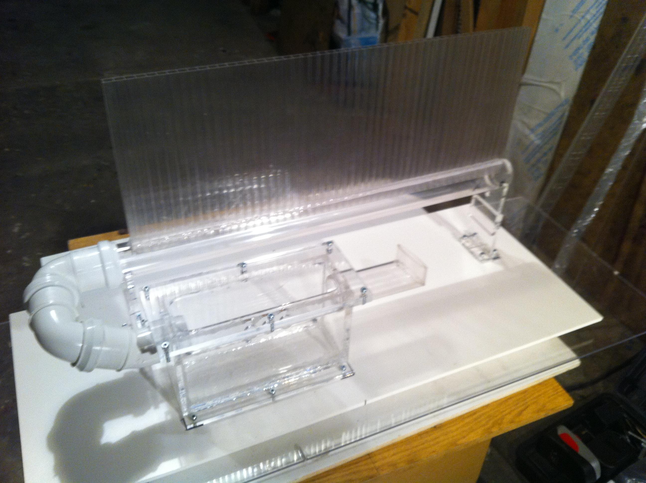 Moja konstrukcja ekranu pseudo holograficznego.