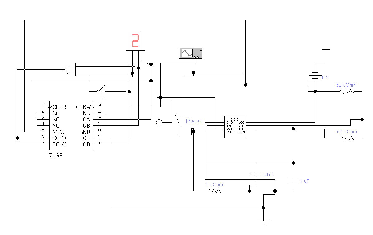 List 7400 Series Integrated Circuits Circuit Wiring And Diagram Hub Of Uk U0142ad Kostki Do Gry Na Przerzutnikach Jk Jak Dzia U0142a Timer Pe 74 25a Breaker