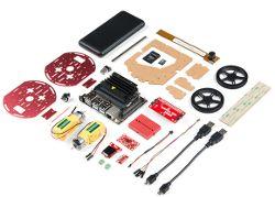 Robot z Jetson Nano i sensorami od Sparkfun