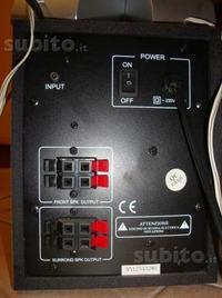Jaki przewód do subwoofera WeLfi D 4100