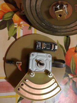 Choinka LED 3D,74x WS2812