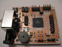 "Gra ""SNAKE"" na ATmega128, LCD-T6963"