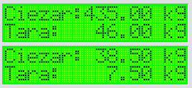 Bascom - skaczący napis na LCD