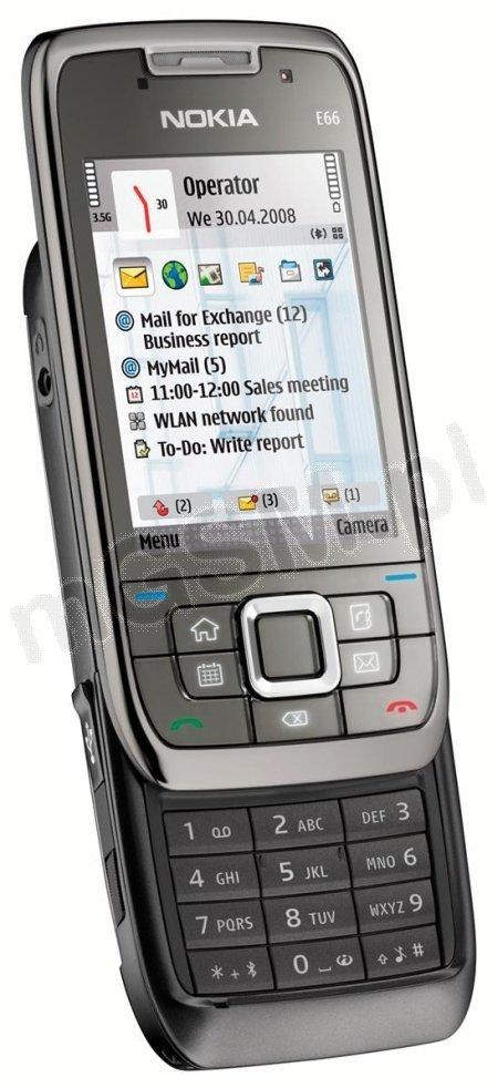 Nokia E66 - Bateria i soft