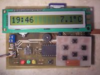 Rejestrator temperatury z SD - V2