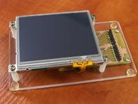"TFT 4,3"" - ATmega32, karta SD, ramka foto, dynamiczne fonty"