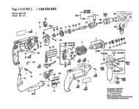 Bosch CSB 550 - Wymiana �o�ysk wiertarki