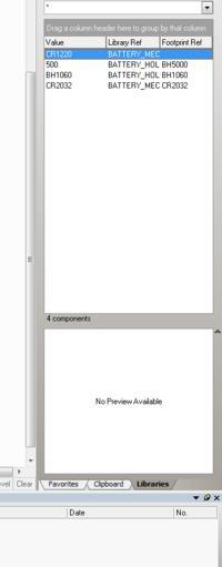 [Altium Designer Summer 09] - Brakujące pola w menu Libraries