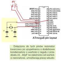 """atmega/8 - Jak po wyjęciu Atmegi z programatora mogę użyć """"jej"""" w najp"""