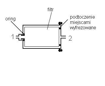 Filtr oleju do hydrauliki