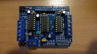 Zasilanie Motor Shield Arduino