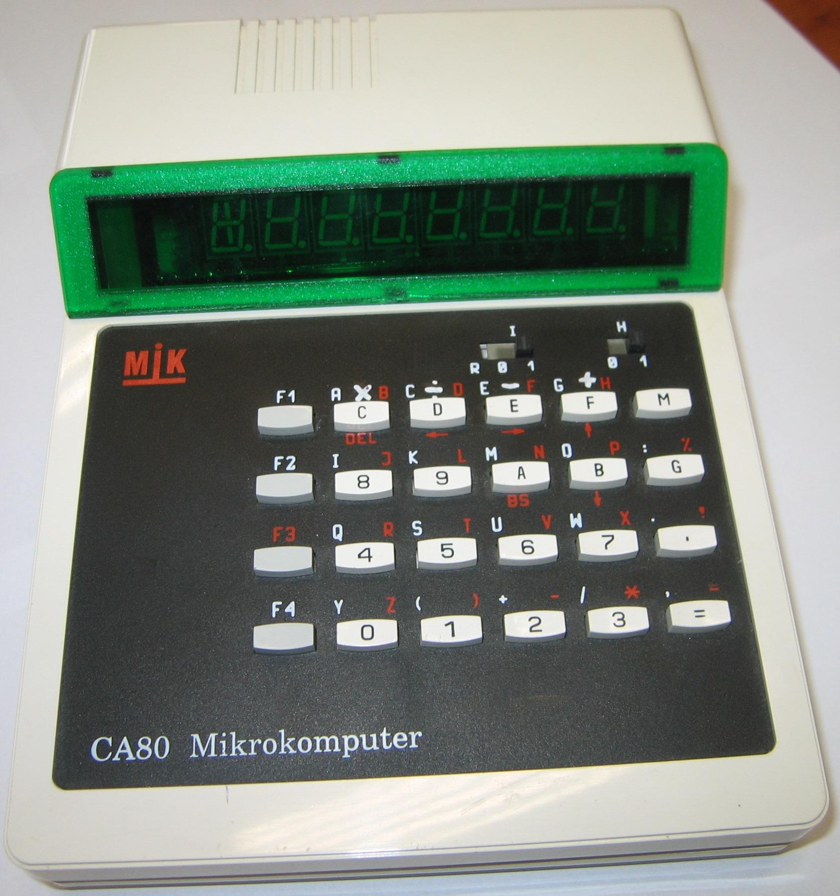 komputer MIK CA80 - reanimacja zabytkowego komputerka