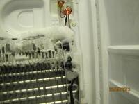 Lodówka SbS Samsung RSH1KLBG narasta lód, nie chłodzi, wiatrak trze o lód
