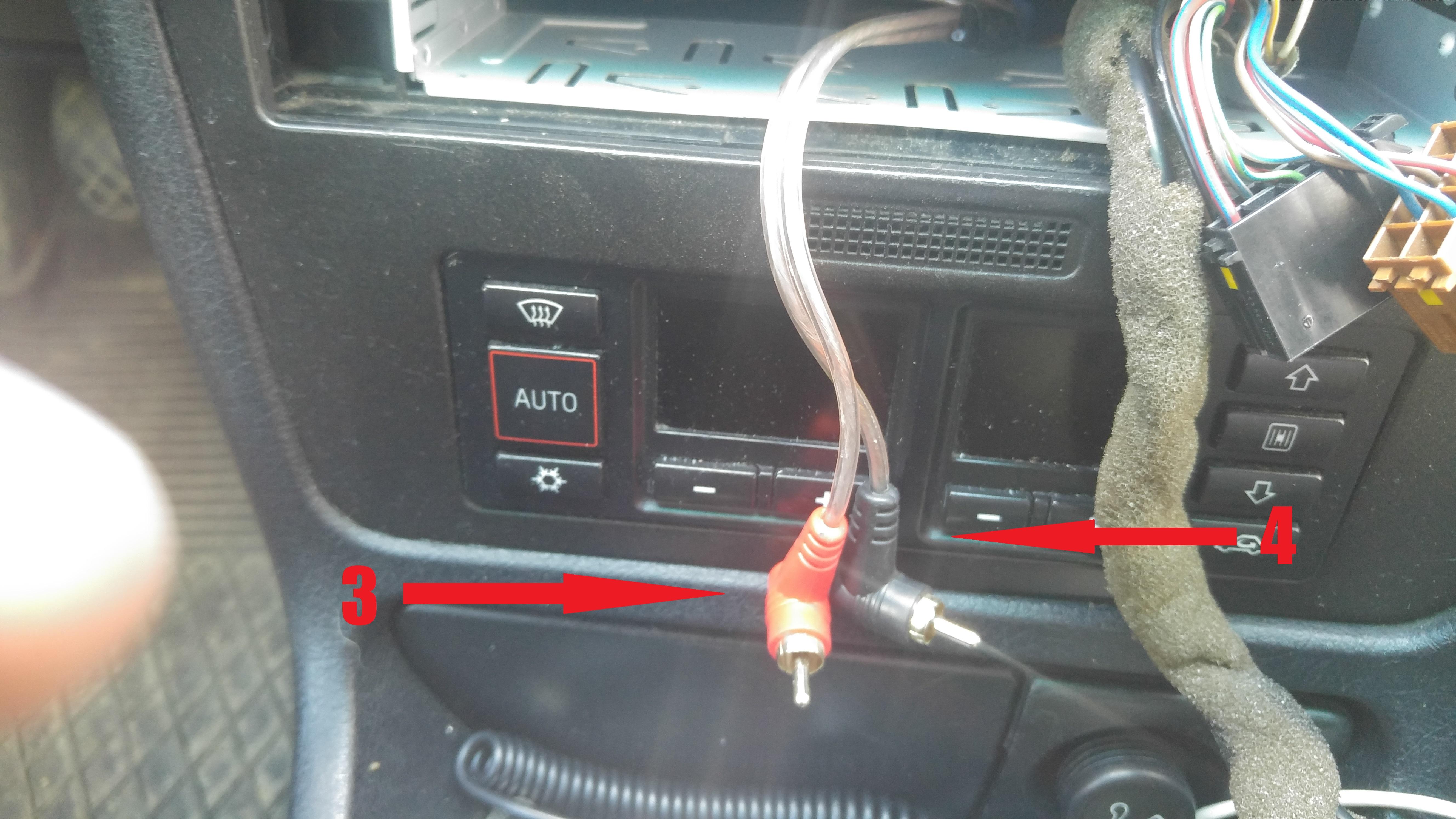 Audi A4 B5 Jak Podłączyć Tylne Głośniki I Subwoofer