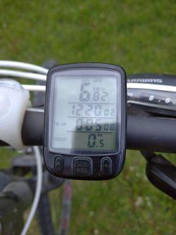 Naprawa licznika rowerowego - opis
