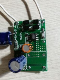 Żarówka LED MENGS E27 20W uszkodzony transformatorek/cewka