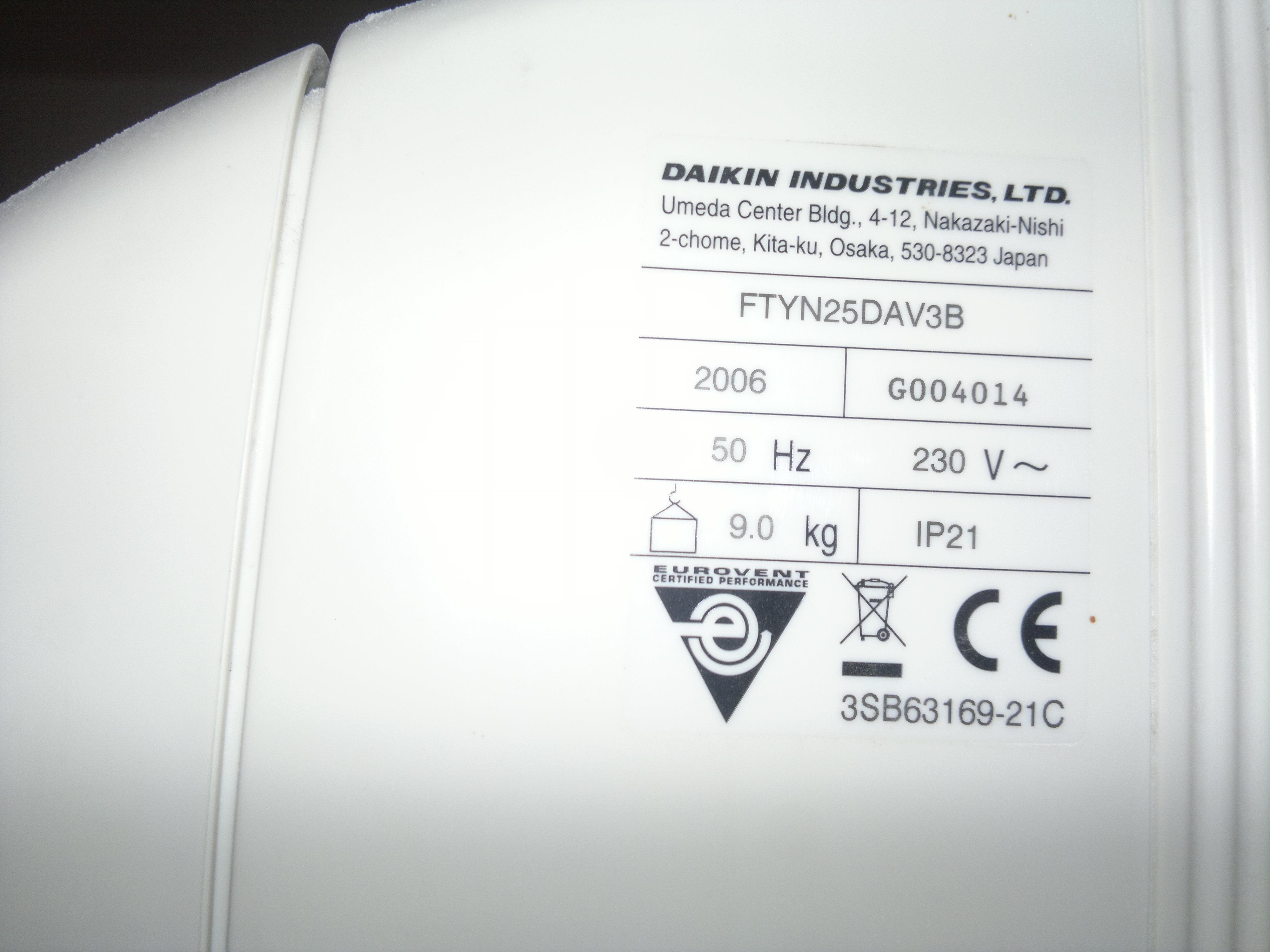 Daikin - Pilot do klimatyzacji