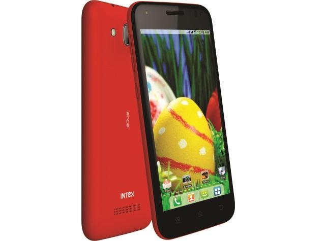 """Intex Aqua Curve mini - niedrogi 4,5"""" smartphone z Dual-SIM Android 4.4"""