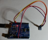 Arduino Uno test, opinion, first launch. DHT22, BMP180, FFT LED RGB.