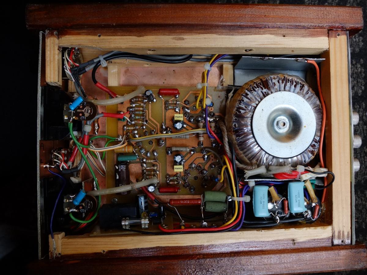 2 x 6P14P i 6N2P - uszkodzony transformator / Wzmacniacz lampowy EL 84
