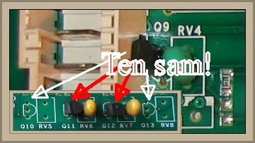 Indesit WITP82 - szukam schematu lub symbolu tranzystora Q9