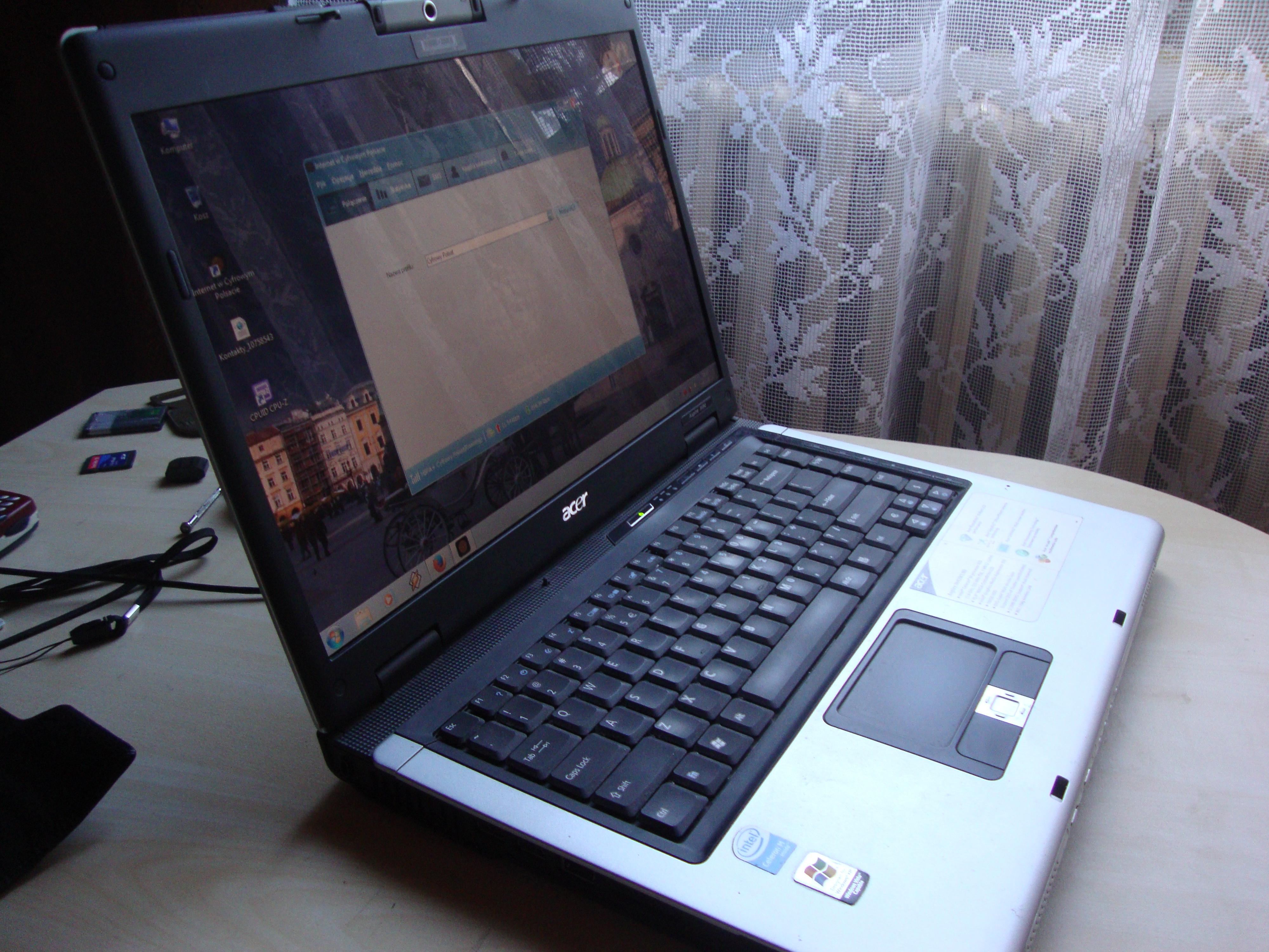 [Sprzedam] Acer Aspire 3692WLMi (3690) komplet stan idealny!!