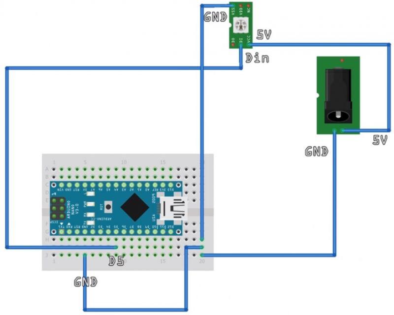 LEDy nie działają z moim Arduino Nano