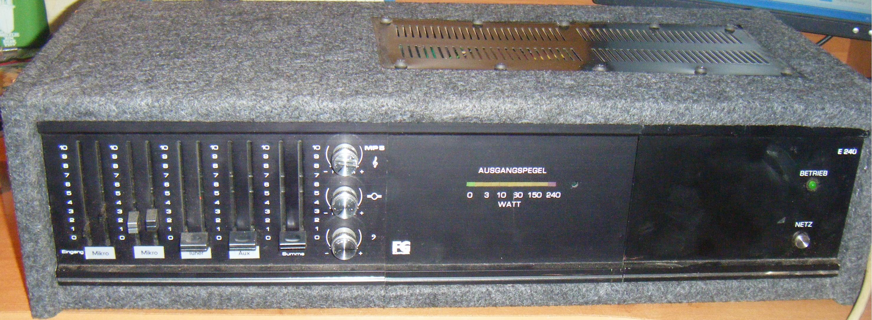 [Sprzedam] Powermixer FG Elektronik E240