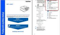 Brother MFC 240C - Jak ustawić język POLSKI w Brother MFC 240C