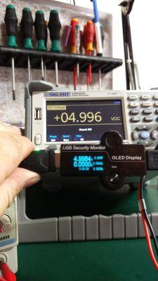 Tester USB dokładny 5 cyfrowy z wyświetlaczem OLED