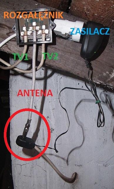 Podlaczenie wzmacniacza bezposrednio do anteny
