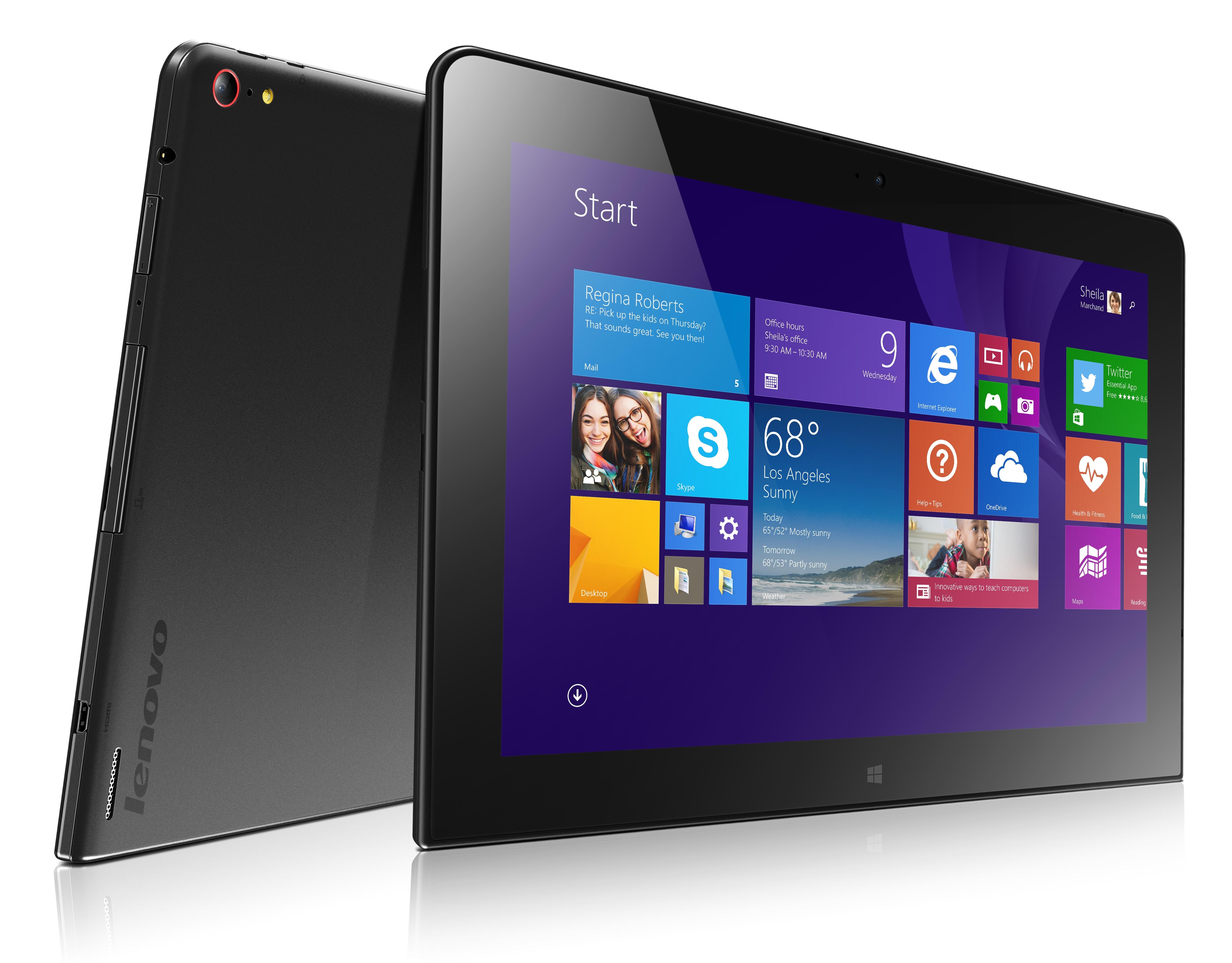 Lenovo ThinkPad 10 - 10-calowy tablet z Atom i Windows 8.1