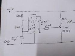 Pastuch elektryczny, elektryzator - prosto i tanio z cewki zapłonowej.