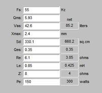 Projekt kolumny do basu 2x10 - potrzebna porada