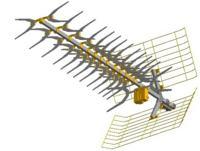 Brak sygnału Mux - 8 antena ATX55 W