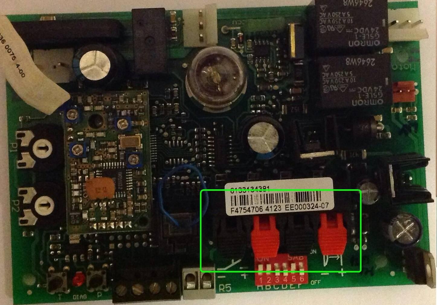 Jak pod��czy� do Hormann ProMatic2  radio Faac FIX 1K (CS-25/FA).