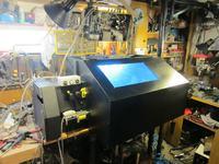 Tokarka CNC - Tytan 750 MTP DIY z automatycznym uchwytem
