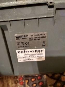 [Sprzedam] Odkurzacz Zelmer Syrius 1800w-->2200w po odnowie.