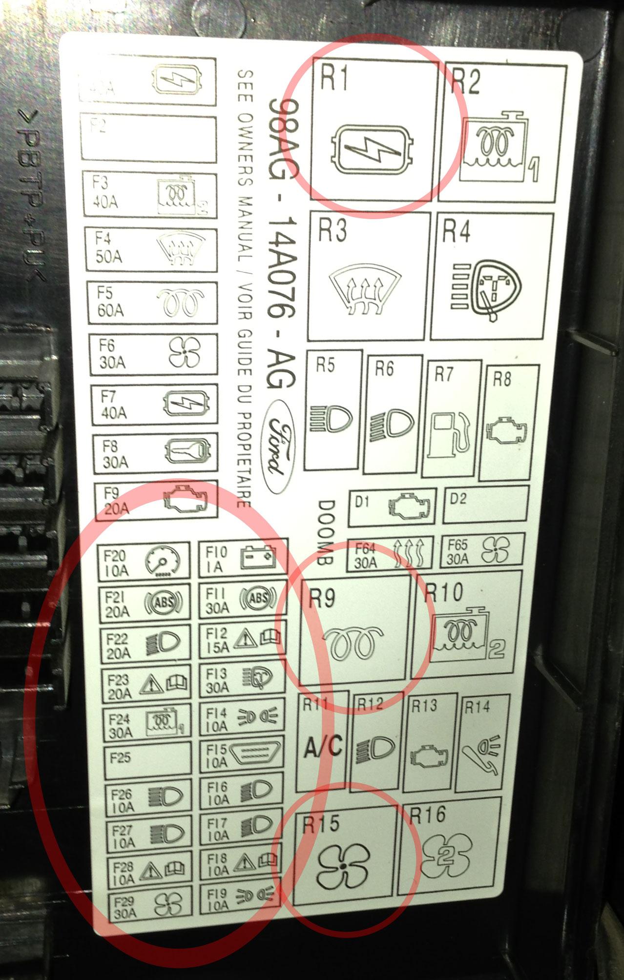 Inteligentny Ford Focus 2001 1.8 TDDI - coś rozładowuje akumulator WC65