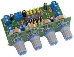 Re: Będę robił wzmacniacz na TDA7560, jak zamontować dwa potencjometry?