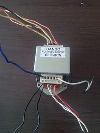BANDO - Gdzie jest uzwojenie pierwotne transformatora obni�aj�cego