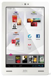 Kobo Arc - 7-calowy tablet i nowy konkurent Nexus 7 ju� w sprzeda�y