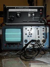 [Sprzedam] Oscyloskop Metrix OX734, RC Generator PO-23 akustyczny, sondy, miern