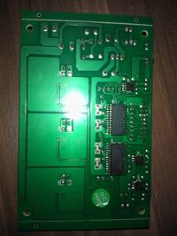 Elektronika PAR64 Ignition 20x3W LED przyczyna uszkodzenia i naprawa