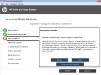 HP Deskjet 2050 - Drukarka nie chce drukować (świecące kontrolki tuszu)
