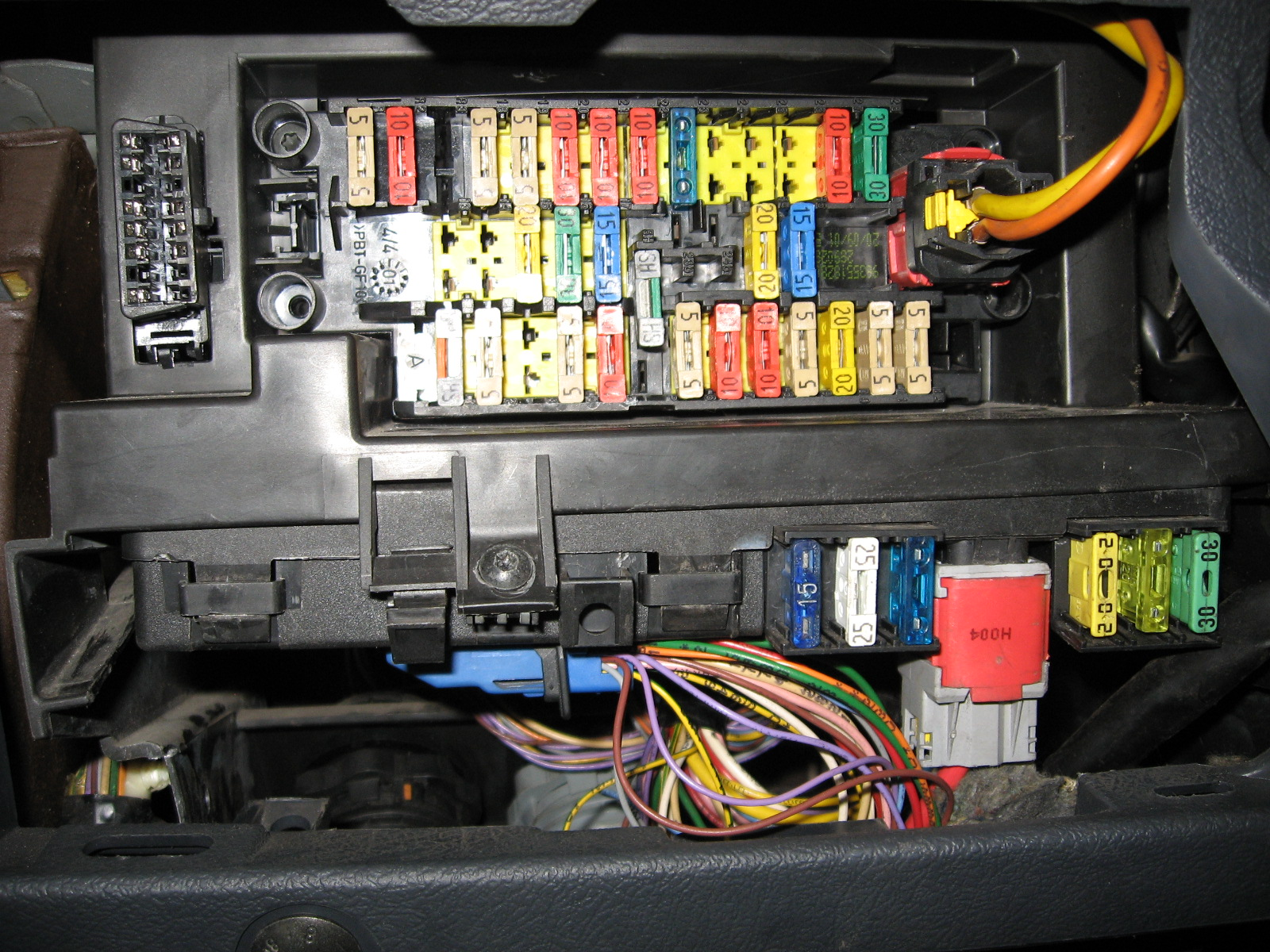Berlingo 1.9 D DW8 2000r. potrzebna rozpiska bezpiecznik�w