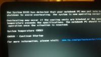 HP pavilion dv6-3000 problem z temperaturą/wyłącza sie po czasie