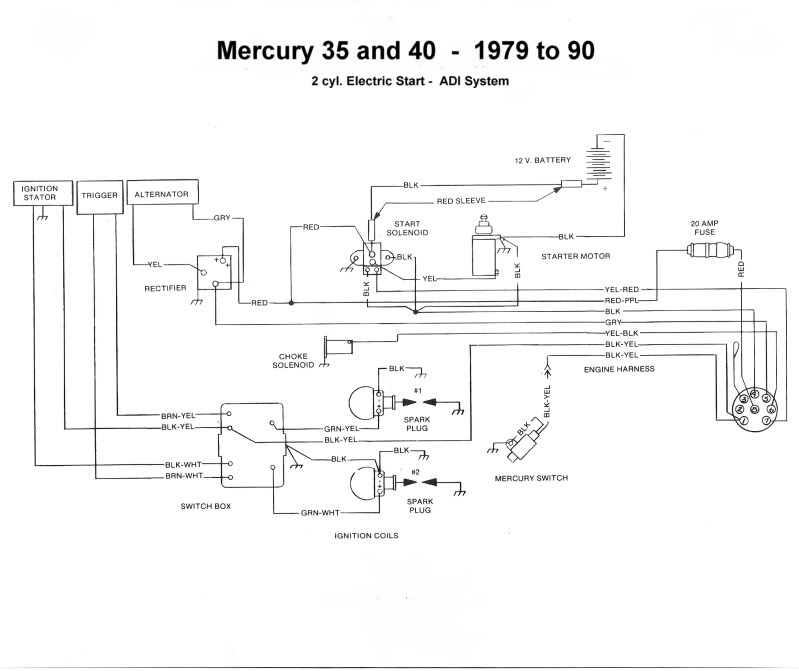 Mercury Force Wiring | Online Wiring Diagram on