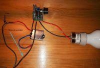 Soft Start + regulator mocy jako sciemniacz
